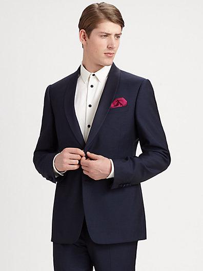Armani Collezioni Two-Button Wool Tuxedo