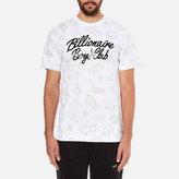 Billionaire Boys Club Men's Galaxy Astro Short Sleeve TShirt - White