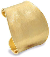 Marco Bicego Lunaria Cuff Bracelet in 18K Yellow Gold
