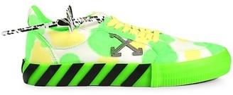 Off-White Tie-Dye Low Vulcanized Sneakers