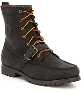Polo Ralph Lauren Men's Ranger Leather Buckled Strap Lace Up Boot