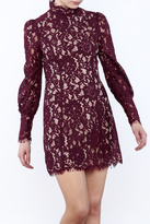 Do & Be High Neck Lace Dress