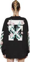 Off-White Arrows & Tulips Cotton Sweatshirt
