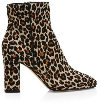 Nicholas Kirkwood Elements Leopard-Print Ankle Boots