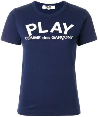 Comme des Garcons slim fit logo T-shirt