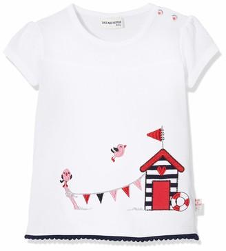 Salt&Pepper Salt and Pepper Baby Girls' mit maritimer Stickerei T-Shirt