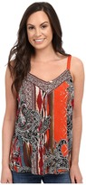 Scully Honey Creek Ellen Whimsical Beaded Tank Top