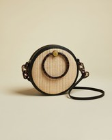 Ted Baker Resin Handle Woven Circular Bag