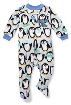 The Children's Place Long Sleeve Penguin Footed Blanket Sleeper (Baby Boys & Toddler Boys)