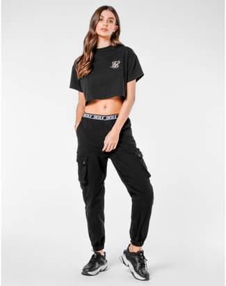 SikSilk Women's Cargo Jogger Pants