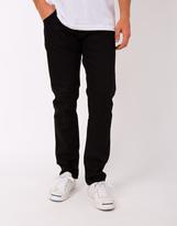 Nudie Jeans Steady Eddie Dry Black Jeans