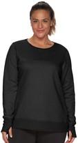 Tek Gear Plus Size Fleece Sweatshirt