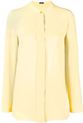 Jil Sander Navy single button blouse