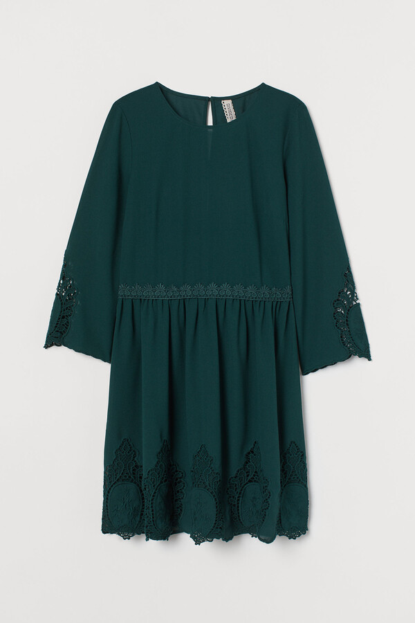 H&M Lace-detail dress