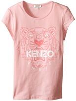 Kenzo Tiger Head T-Shirt Girl's T Shirt
