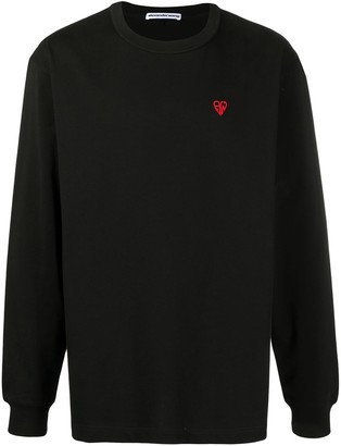 Alexander Wang Heart Monogram sweatshirt