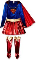 Rubie's Costume Co Costume Secret Wishes Women's Adult Supergirl Costume, Blue/Red