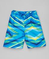 Kanu Surf Blue Energy Swim Trunk - Boys