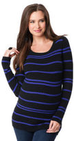 A Pea in the Pod Long Sleeve Cable Knit Maternity Sweater