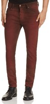 Diesel Tepphar Stretch Slim Fit Jeans in Red