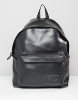 Eastpak Padded Pak'R Perforated Leather Backpack