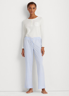 Ralph Lauren Striped Jersey Pajama Pant