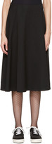 Comme des Garcons Black Asymmetric Skirt