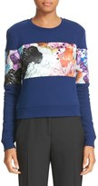 Carven Women's Crystal Print Sweatshirt