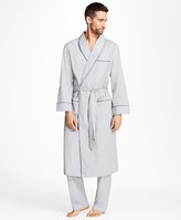 Brooks Brothers Plaid Robe