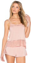 Skin Lace Cami in Pink