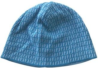 Fendi Turquoise Viscose Hats