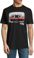 Novelty T-Shirts Guardians of the Galaxy Awesome Mix Tape Graphic T-Shirt