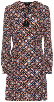 A.P.C. Gordon floral-printed dress