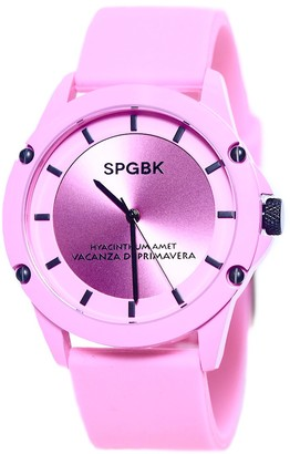 Spgbk Watches Hillendale Silicone Strap Watch, 44mm