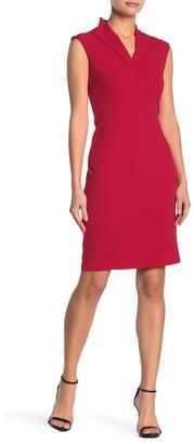 Spense V-Neck Sheath Dress