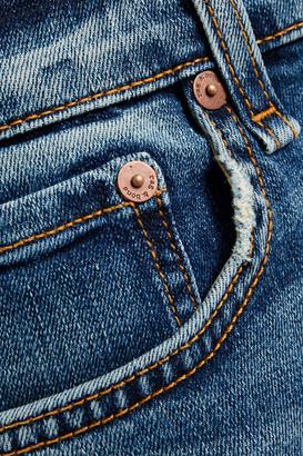 Rag & Bone Nina Distressed High-rise Skinny Jeans