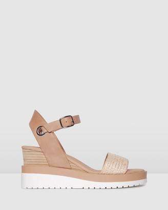 Jo Mercer - Women's Neutrals Sandals - Kenzie Wedge Sandals - Size One Size, 38 at The Iconic