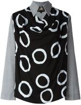 Vivienne Westwood pointed collar blouse - women - Cotton/Viscose - 40