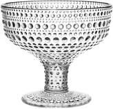 Iittala Kastehelmi Footed Bowl, Clear
