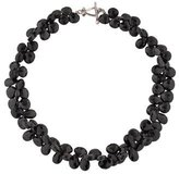 Robin Rotenier Onyx Double Bead Strand Necklace