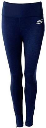 Skechers Women Sports Athletic Gym Workout Fitness Yoga Leggings Pants Navy 8