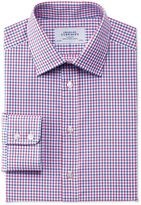 Slim Fit Egyptian Cotton Jermyn St Check Red And Blue Formal Shirt Size 14.5/33
