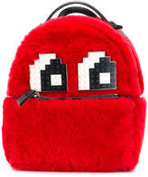 Les Petits Joueurs lego eyes furry backpack