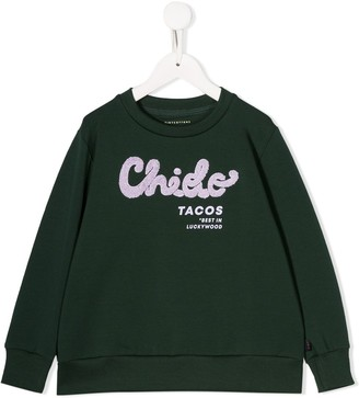 Tiny Cottons tacos print sweatshirt
