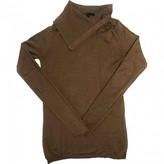Maje Camel Cashmere Knitwear