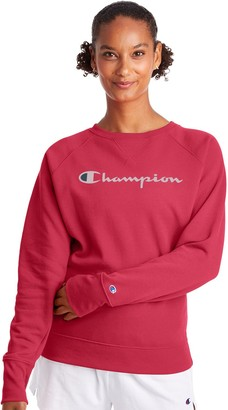 Champion Women's Powerblend Fleece Boyfriend Sweatshirt