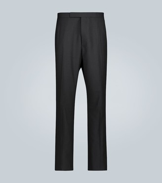 Thom Browne Exclusive to Mytheresa a straight-leg wool tuxedo pants