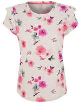 George Ruffled Floral Pyjama Top