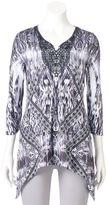Women's World Unity Print Sublimation Tunic