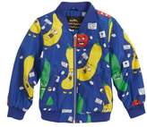 Mini Rodini Veggie Weatherproof Baseball Jacket